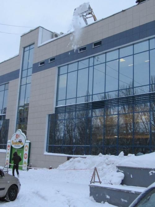 Екатеринбург после снегопадов