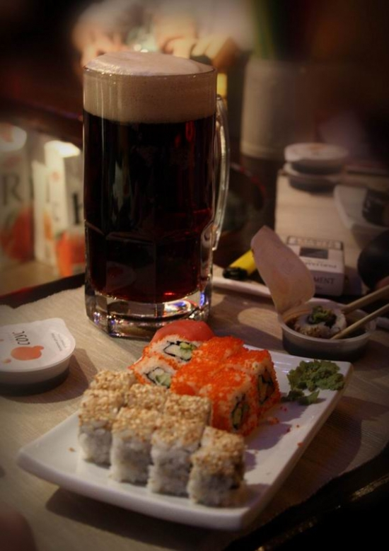 Эпидемия суши. Объелись роллов :)