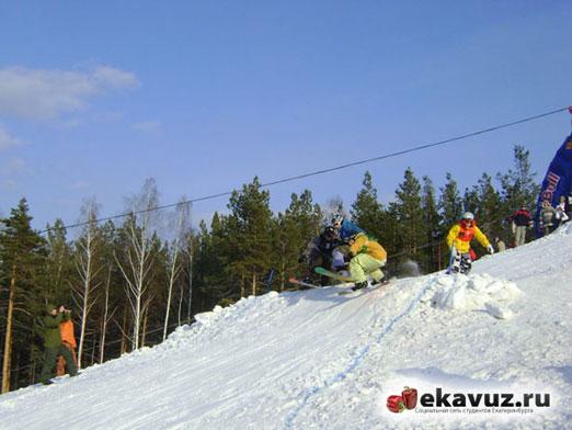 Отчёт о чемпионате Border&Ski Cross УрФУ 2011