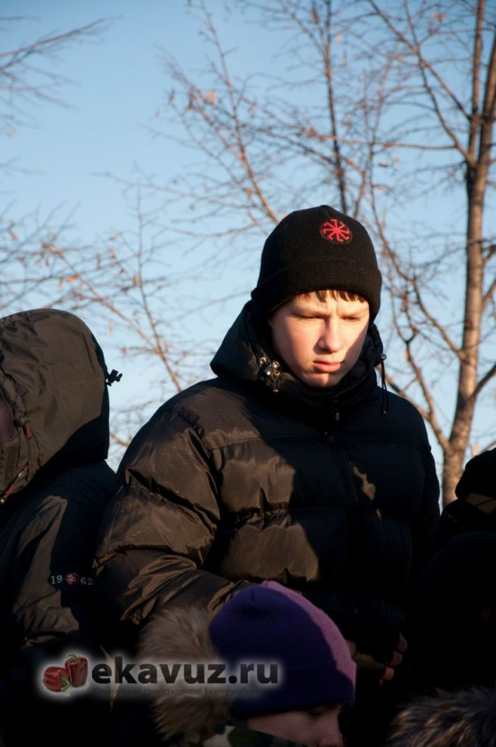 10 декабря в Екатеринбурге прошёл пикет за честные выборы